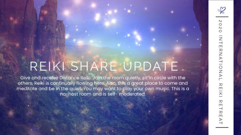 Reiki Share Update